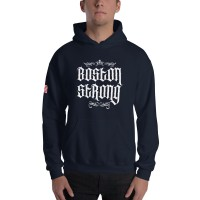 "Men's ""Boston Strong"" Hoodie"