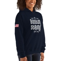 "Women's ""Boston Strong"" Hoodie"