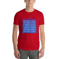"Men's ""Los Angeles on our minds"" T-shirt"
