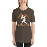 "Women's ""Believeland Go Cleveland Browns"" T-shirt"