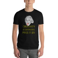 "Men's ""Creativity is Contagious"" T-shirt"