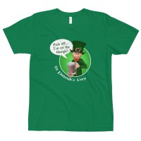 "Men's ""Feck Off I'm on the Gargle St Patrick's Day"" T-shirt"