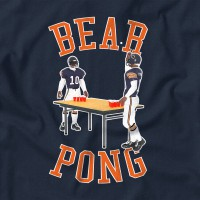 "Men's ""Bear Pong"" T-shirt Navy"