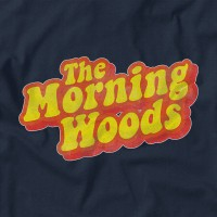 "Men's ""The Morning Woods"" T-shirt Lake Blue"